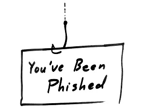 you've been phished
